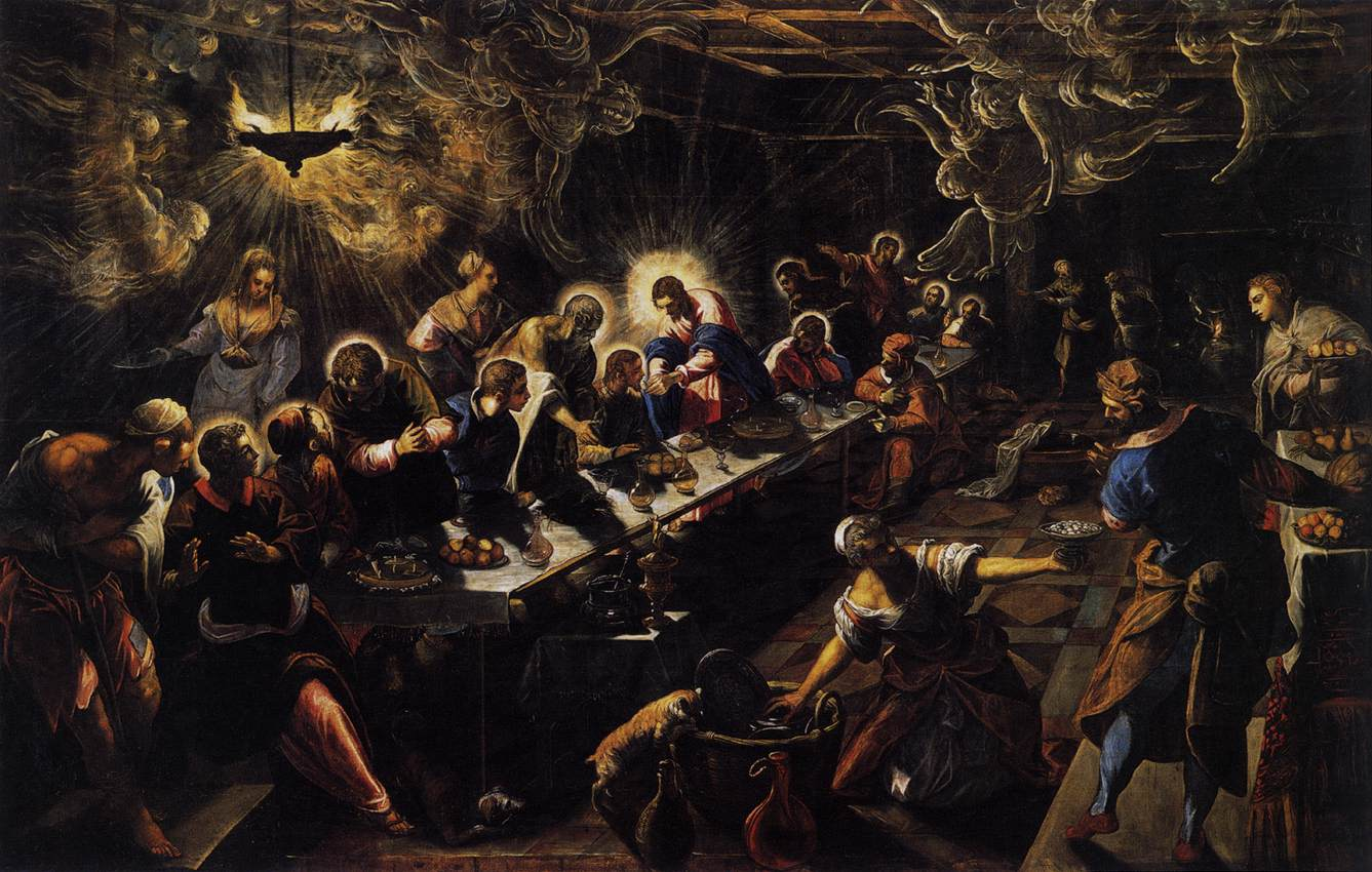 Tintoretto_-_The_Last_Supper