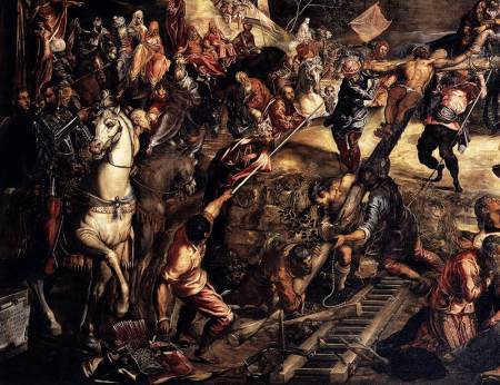 tintoretto_thecrucifixion-detail