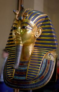 Funeral Mask of Tutankhamun.