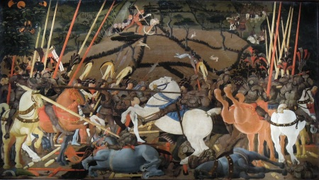 Uccello_Battle_of_San_Romano_II Uffizi