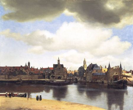 Jan Vermeer's View of Delft.
