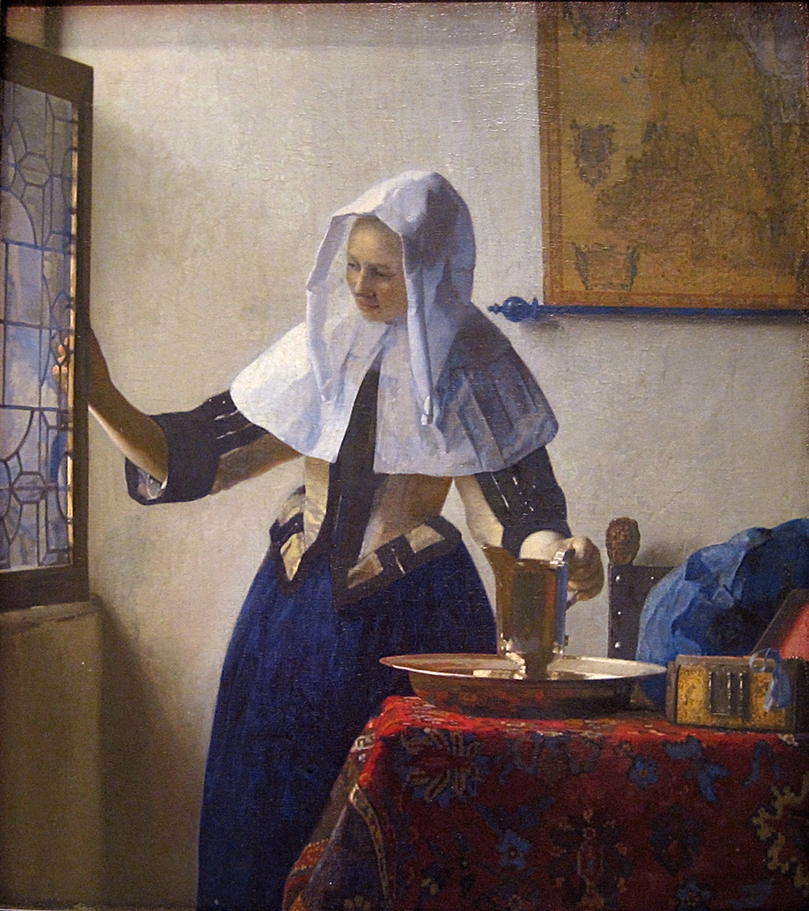 vermeer young-woman-with-a-water-pitcher