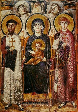 Virgin and Child with Saints and Angels - Sinai