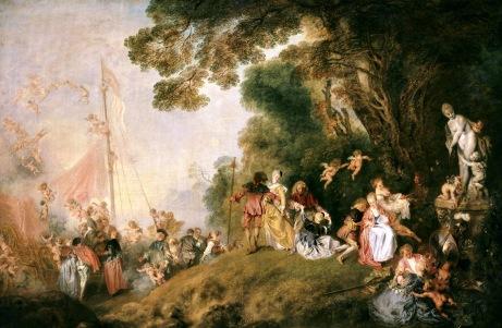 Watteau_-_pilgrimage to cythera