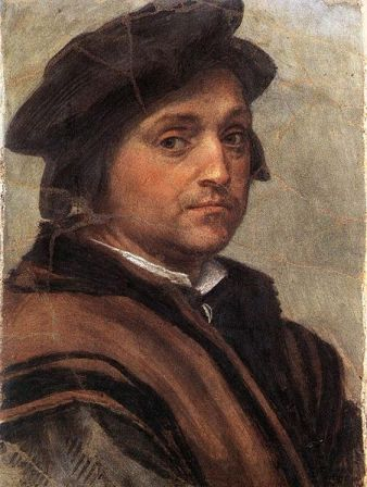 Self-Portrait of Andrea del Sarto.