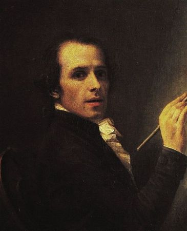 Self-Portrait of Antonio Canova (1792).