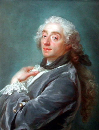Portrait of Francois Boucher by Gustav Lundberg.