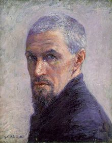 Self-Portrait of Gustave Caillebotte (c. 1892).