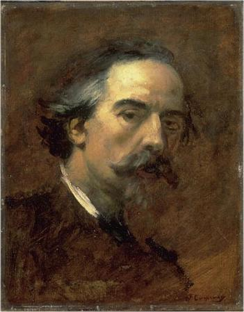 Self-Portrait by Jean-Baptiste Carpeaux.