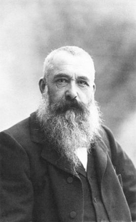 Claude Monet, photographed by Nadar (1899).