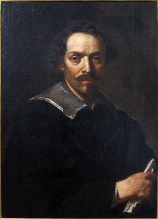 Self-Portrait of Pietro da Cortona.