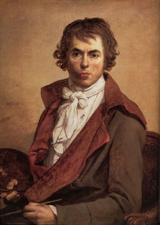 Self-Portrait of Jacques-Louis David (1794).