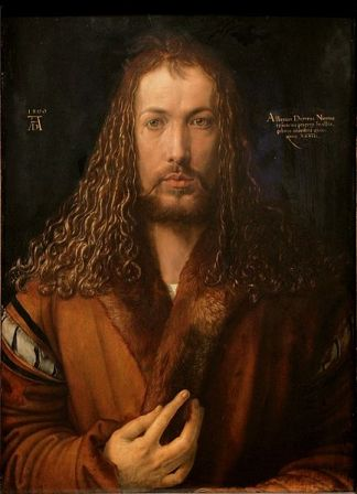 Self-Portrait of Albrecht Durer (1500).