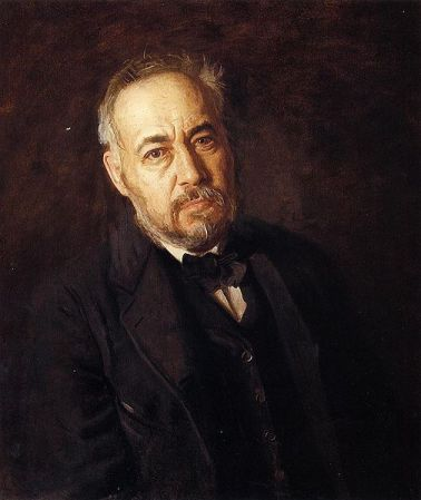 Self-Portrait of Thomas Eakins (1904).