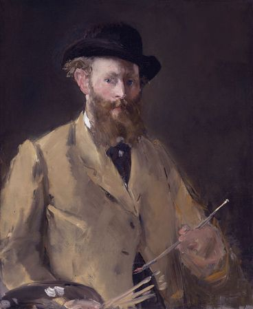 Self-Portrait of Edouard Manet (1879).