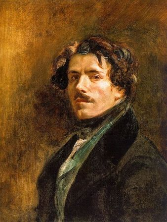 Self-Portrait of Eugene Delacroix (c. 1837).