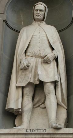 Statue of Giotto by Giovanni Duprè (1845).