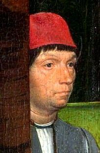 Self-Portrait of Hans Memling.