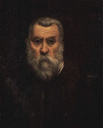 A 1588 Self-Portrait of Jacopo Tintoretto.