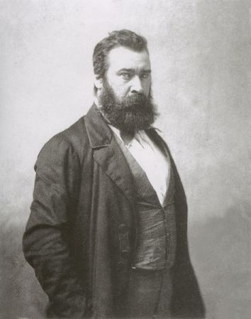 Jean-Fancois Millet, photographed by Nadar.