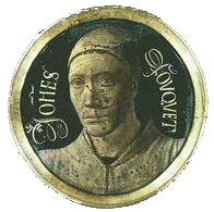 Self-Portrait of Jean Fouquet (1450).