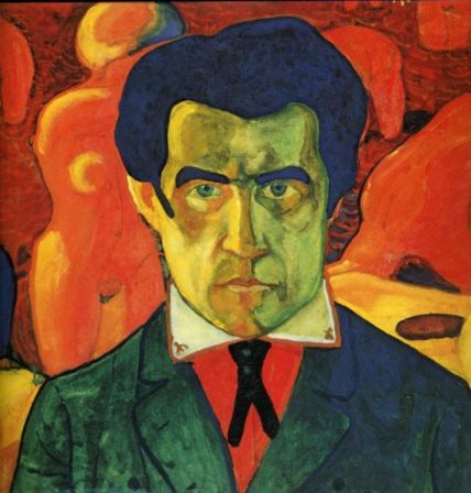 Self-Portrait of Kazimir Malevich (c. 1908-1912).