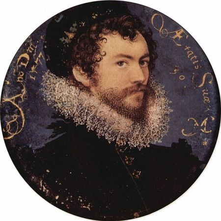 Self-Portrait of Nicholas Hilliard.