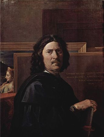 Self-Portrait of Nicolas Poussin (1650).