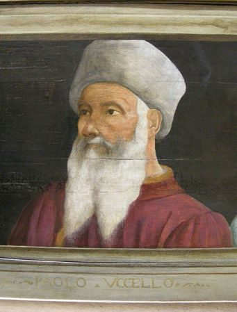 Portrait of Paolo Uccello by unknown artist.