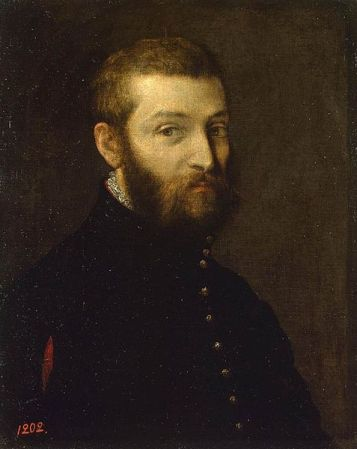 Self-Portrait of Paolo Veronese (c. 1558-1563).