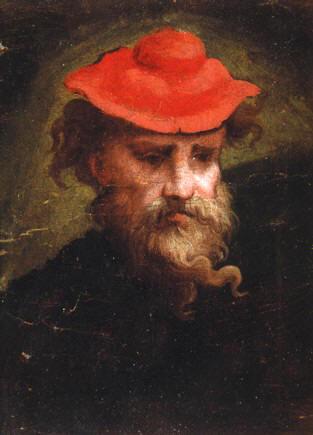 Self-Portrait of Parmigianino (1540).