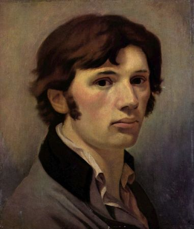 Self-Portrait of Philippe Otto Runge (1802-1803).