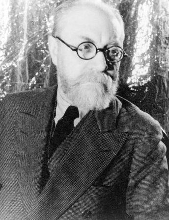 Henri Matisse, photographed by Carl Van Vechten (1933).