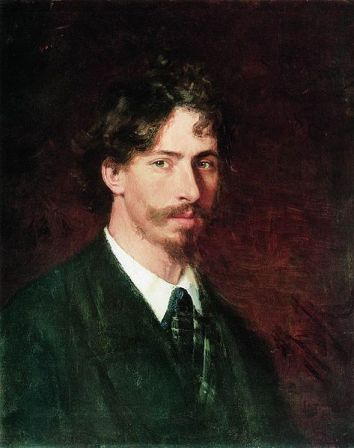 Self-Portrait of Ilya Repin (1878).