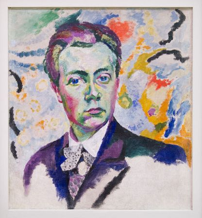 Self-Portrait of Robert Delaunay (1905-1906).