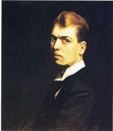 Self-Portrait by Edward Hopper (1906).