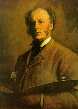 Self-Portrait of John Everett Millais.