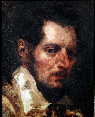 Self-Portrait of Theodore Gericault.