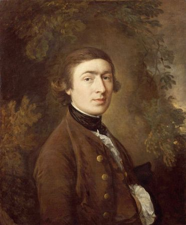 Self-Portrait of Thomas Gainsborough (1759).