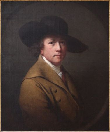 Self-Portrait of Joseph Wright of Derby (c. 1780).