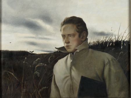 Self-Portrait of Andrew Wyeth (1945).