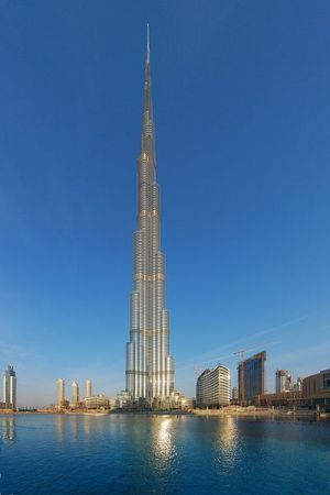 Dubai now boasts the tallest building in the world, the Burj Khalifa.