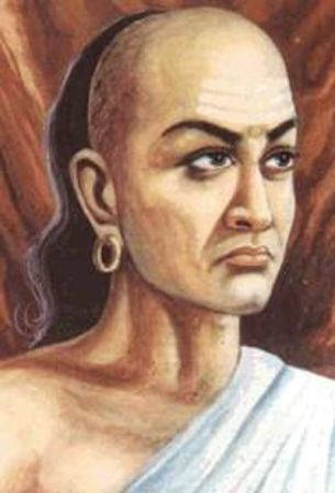 An artist's impression of Chanakya.
