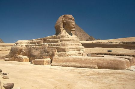 While stationed in Egypt, Napoleon's troops used the face of the Great Sphinx of Giza for target practice.