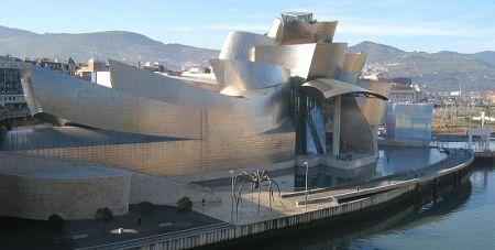Gehry's Guggenheim Museum in Bilbao, Spain.