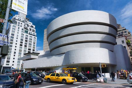 Twenty-five artists signed a petition saying the Guggenheim was inappropriate for showing their artwork.