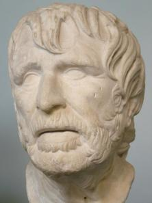 A bust of Hesiod from the 2nd Century BCE.