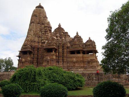 Kandariya Mahadeva Temple, one of the temples in the Khajuraho complex.