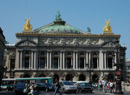 The Palais Garnier was home to the Paris Opera from 1875 to 1989.