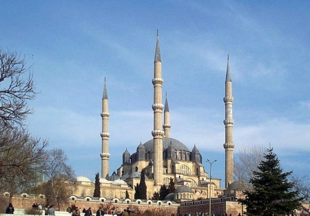 Selimiye Mosque is a masterpiece of Islamic architecture.